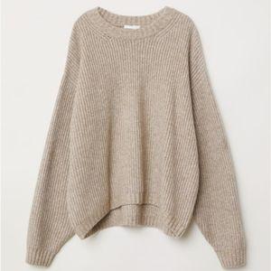 H&M Beige Knit Sweater
